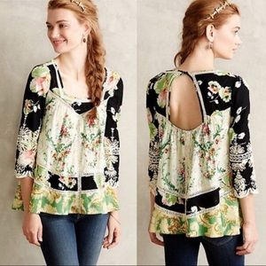 ANTHROPOLOGIE VANESSA VIRGINIA Prateria Blouse 0
